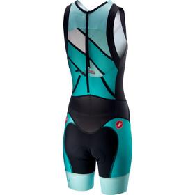 Castelli Free ITU Tri Suit Damer, turquoise/green
